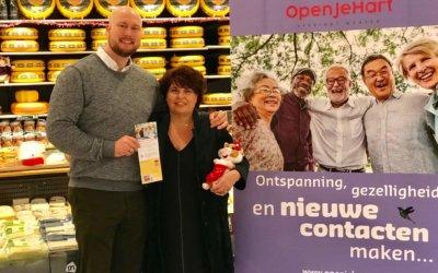 AH Den Haag en OpenJeHart samen tegen eenzaamheid
