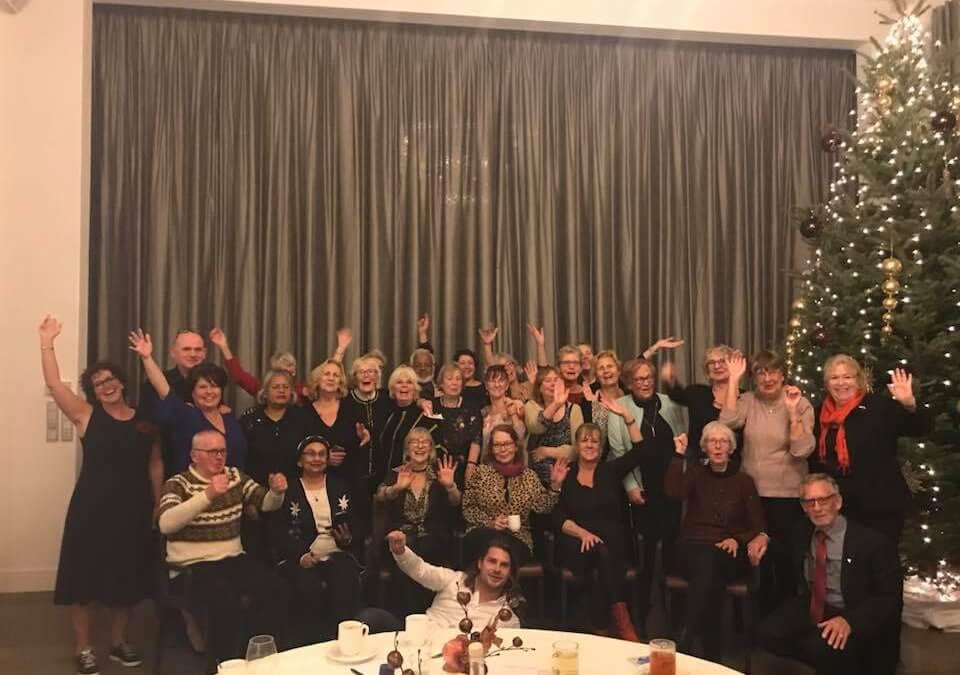 Kerstdiner in Parkhotel in Den Haag