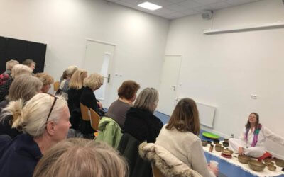 Veel interesse in workshop klankschalen