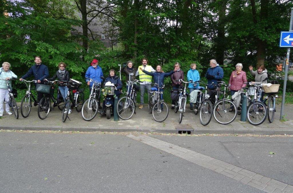 Geslaagde fietstocht door het Westland