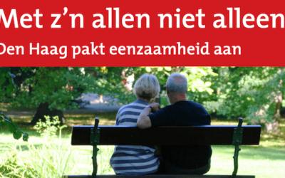 OpenJeHart onderdeel Haagse campagne tegen eenzaamheid